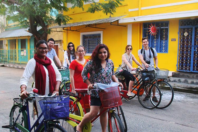 Pondicherry Bike Tour With Breakfast