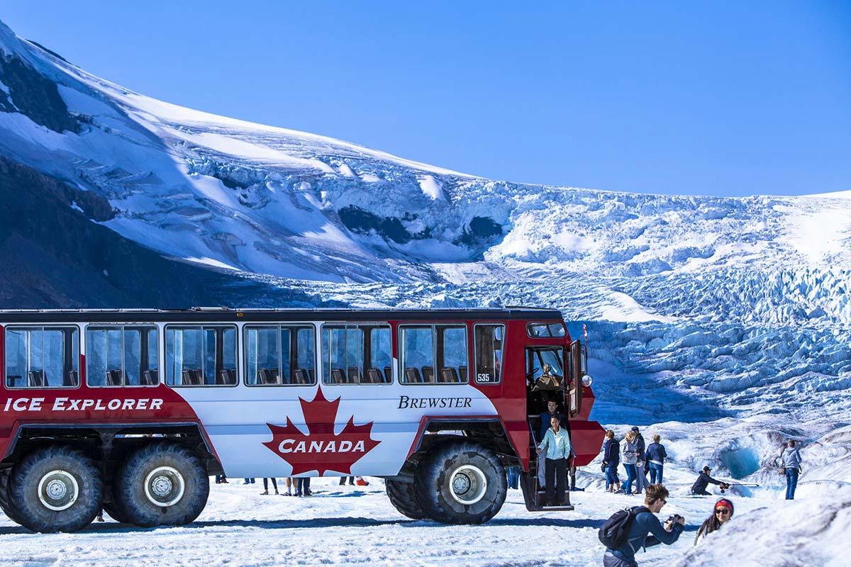 Banff Gondola, Glacier Adventure, Glacier Skywalk, and Lake Cruise