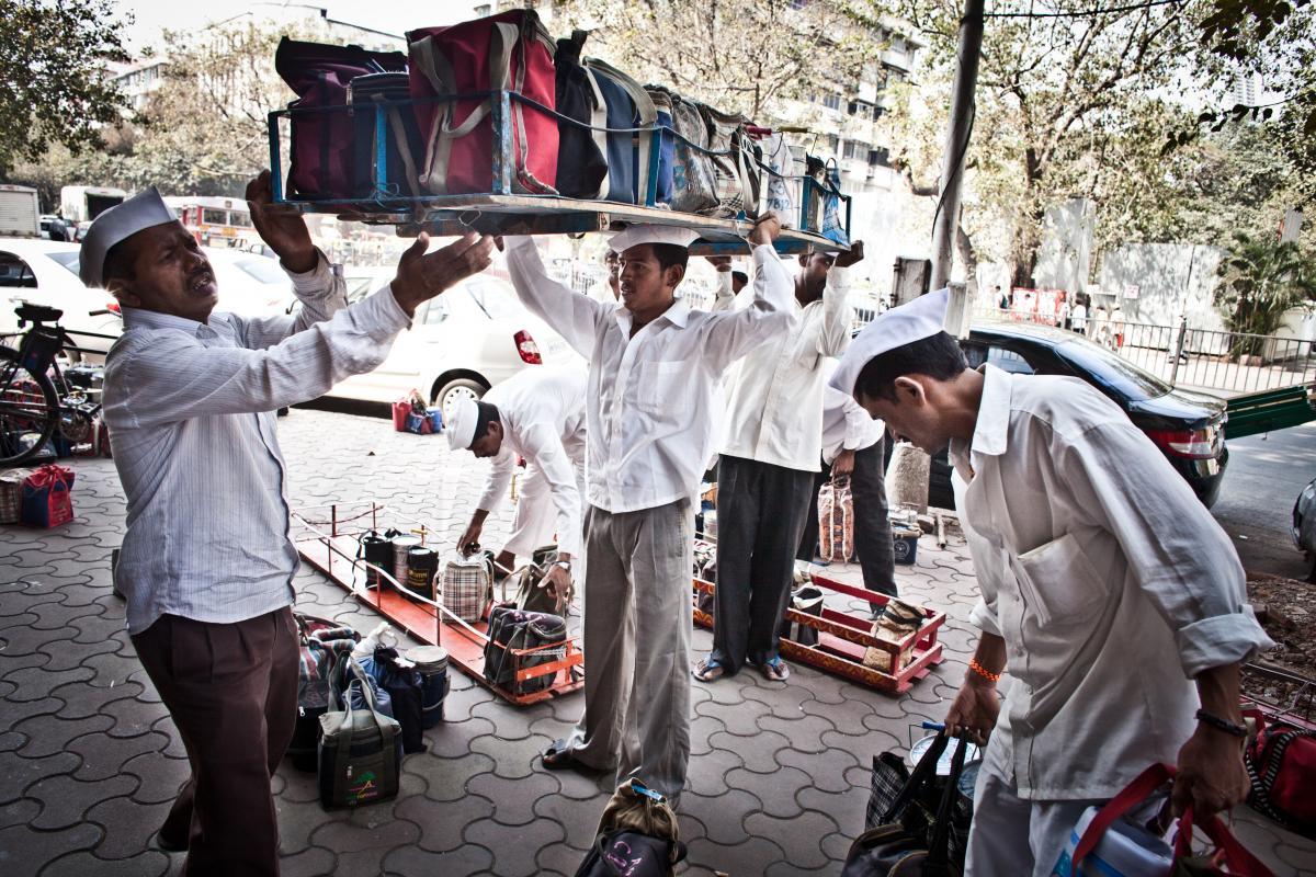 Meet the Dabbawalas Of Mumbai