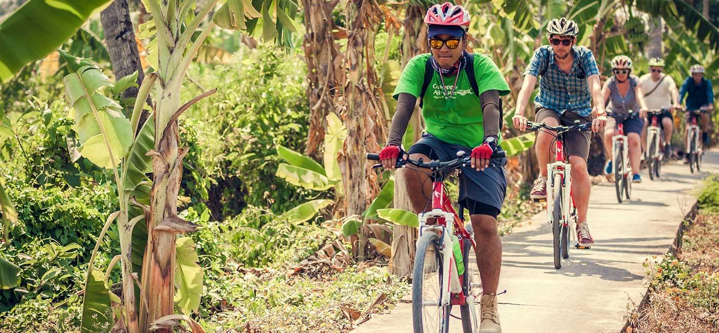 Bangkok Morning Bike Tour