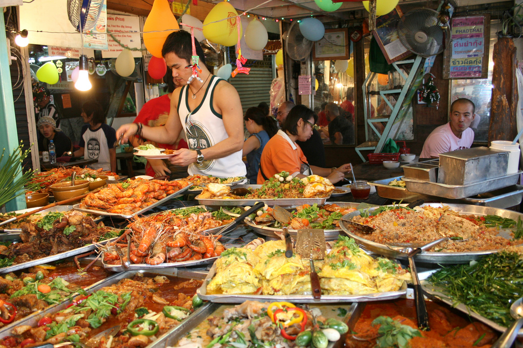 Old Town Bangkok Food Tour