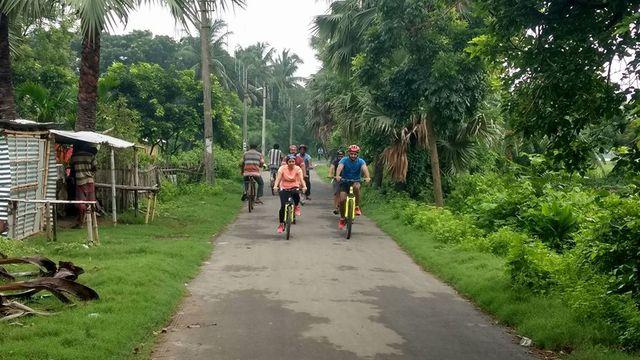 Cycling In Kolkata