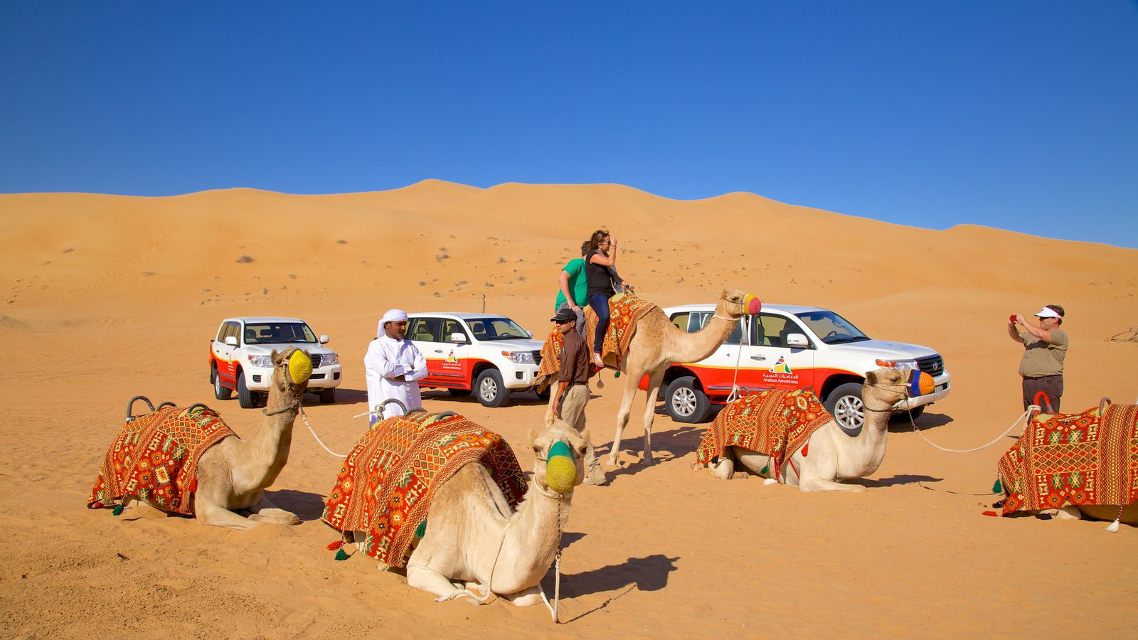Dubai Desert Safari with Camel Ride