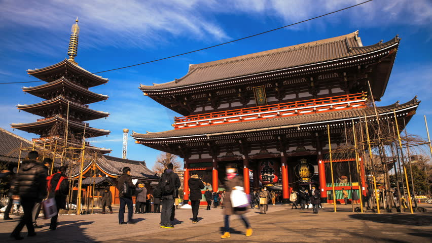 Tokyo Temples Morning Tour