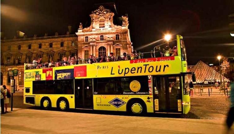 Panoramic Night Tour of Paris