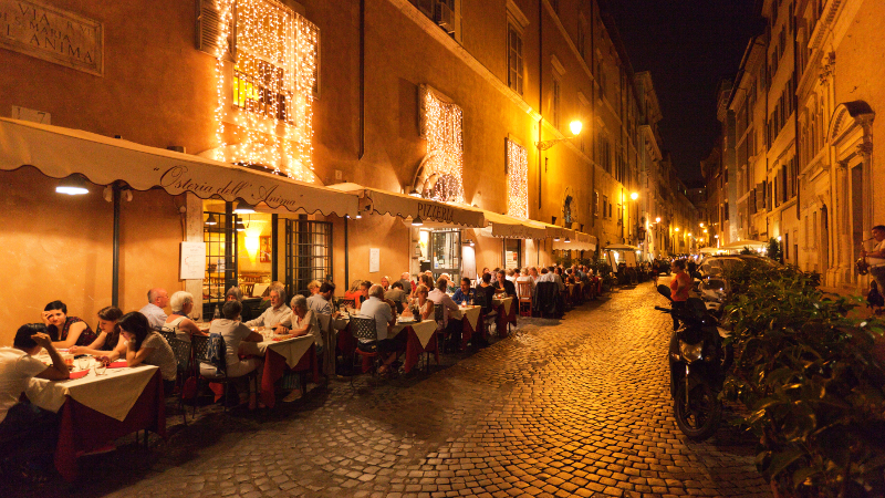 Trastevere By Night