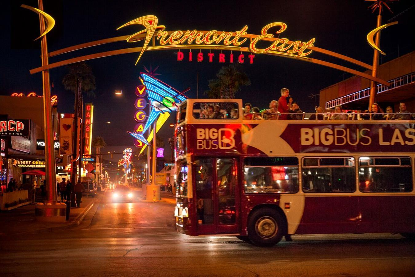 Big Bus Las Vegas Night Tour